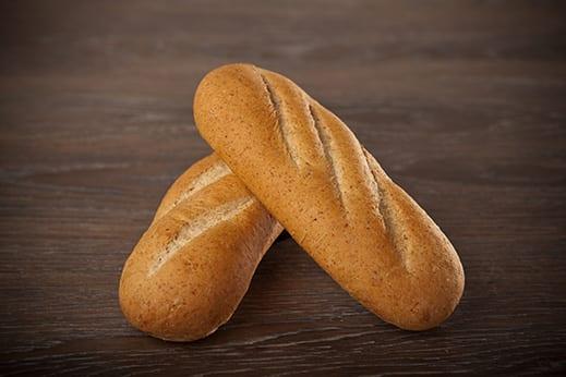 "9"" 40% Whole Wheat Sub Bun Product Image"