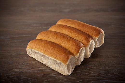 60% Whole Wheat Hotdog Bun Product Image
